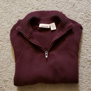 DKNY Jeans Men Size M burgundy sweater